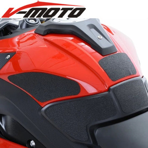 Высококачественная кожаная Тяговая боковая накладка на бак мотоцикла, стикер на ручку колена для газового топлива для BMW S1000XR S1000 XR 2018