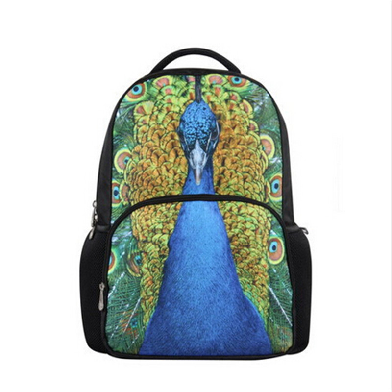 ФОТО New Arrival 3d Animal Fashion School Bag Skateboard Preppy Style Schoolbag Backpacks