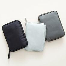 Нейлоновый портативный дорожный кошелек-органайзер, Сумка для документов, паспорта, билета, удостоверения личности, высокое качество, прочный