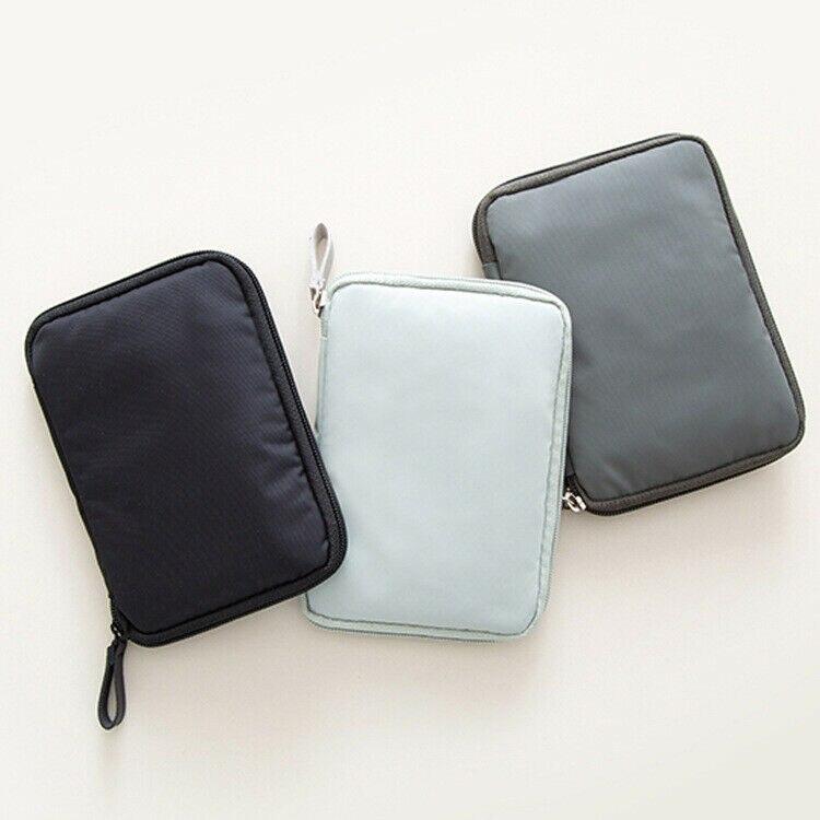 New Nylon Portable Travel Wallet Purse Organiser Document Bag Passport Ticket ID Holder High Quality Durable