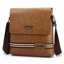 купить Newest Man Messenger Bag Men Pu Leather Shoulder Bags Business Crossbody Casual Bag Vintage Handbag Free shipping по цене 828.47 рублей