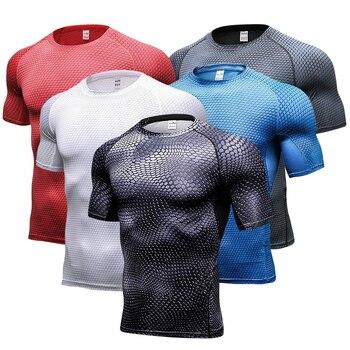 ff4899f8278 рашгард мужской футболка майка для фитнеса футболки спортивная  компрессионная футболка мужская майки для фитнеса рубашка футболка для спо.