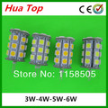 New Lampada 10pcs/lot  DC/AC 12V G4 LED crystal light 3W 4W 5W 6W 5050 SMD G4 LED Bulb Lamp Free shipping ( High Brightness )
