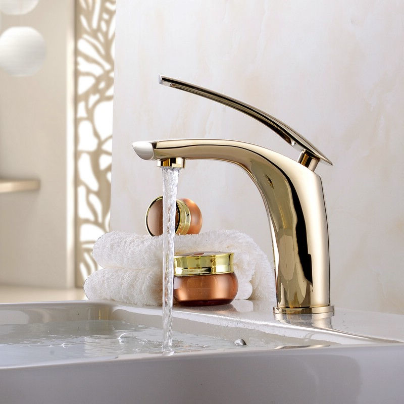 Bathroom Basin Faucet Red Baking Solid Brass Sink Mixer Tap Hot and Cold  Waterfall Basin Faucet Unique Design Single Handle TapBathroom Basin Faucet Red Baking Solid Brass Sink Mixer Tap Hot and Cold  Waterfall Basin Faucet Unique Design Single Handle Tap