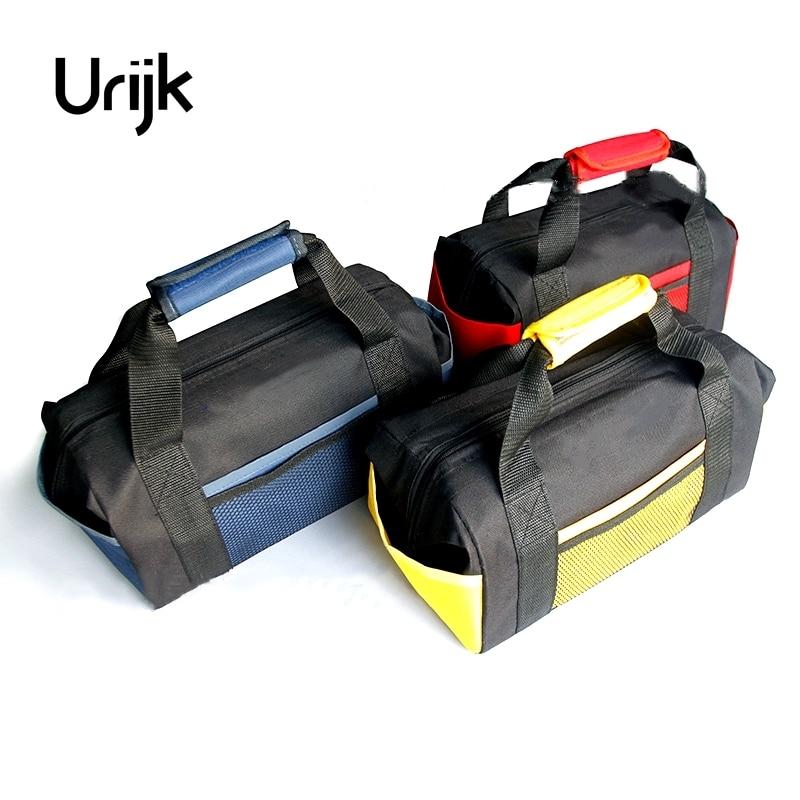 Urijk 3Color Oxford Steel Fix Handheld Hand Tool Bag Repair Set Large Big Tool Bag Waterproof Multifunctional Screwdriver Wretch