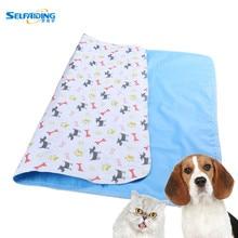 Девять моделей водонепроницаемых многоразовых собак постельные Матрасы для собак впитывающие пеленки коврик для мочи для щенков Когтеточка для домашних животных коврик с 3 размерами PTP-803-811