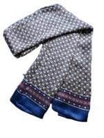 Elegant Men 100% Pure Silkworm Silk Scarf Male Double Layer Long Neckerchief 37Colors