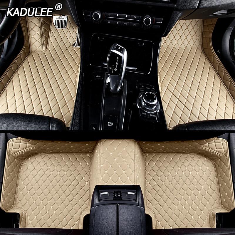 KADULEE Custom Car Floor Foot Mat For Lexus Gs Nx Rx Ct200h Lx470 Is 250 Lx570 LX570 NX200 CT200 ES GS IS LS Auto Accessories