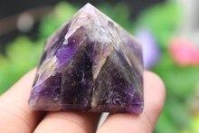 59 gramów naturalny kryształ kwarcowy zijin piramidy punkt do leczenia