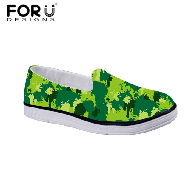 FORUDESIGNS Camo Verde Sapatos de Outono Ao Ar Livre da Aptidão dos Esportes das Crianças Sapatos Meninos Menina Infantil Meninas Sapatilhas Ginásio Tenis Infantil