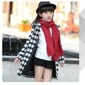 /2016/осенью и зимой одежда ветровка куртка детей 3-16 лет девочка мода/пальто/удлинить/высокое качество толщиной
