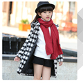 /2016/ autumn and winter clothing windbreaker jacket children 3-16 years old girl fashion / coat / lengthen / high quality thick