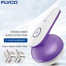 Flyco 전기 의류 린트 리무버 스풀 제거를위한 충전식 기계 전문 양모 린트 스웨터 면도기 fr5222