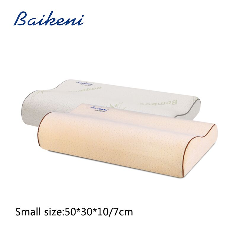 Bamboo Memory Foam Pillow Orthopedic Hypoallergenic Neck Protection Healthcare