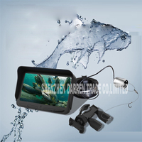 4.3 LCD Monitor Underwater Video 1000TVL Fishing Cam Fish Finder 8 LED Night Vision & Sunblind 720P 5 million Pixel 2000MAH