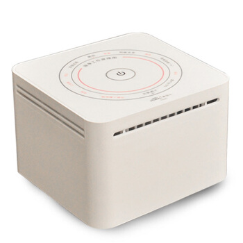 Home Portable Air Purifier Desktop Anion Oxygen Bar Smoke Formaldehyde Cleaner Purifier  Negative Ion Generator oxygen bar chair gray