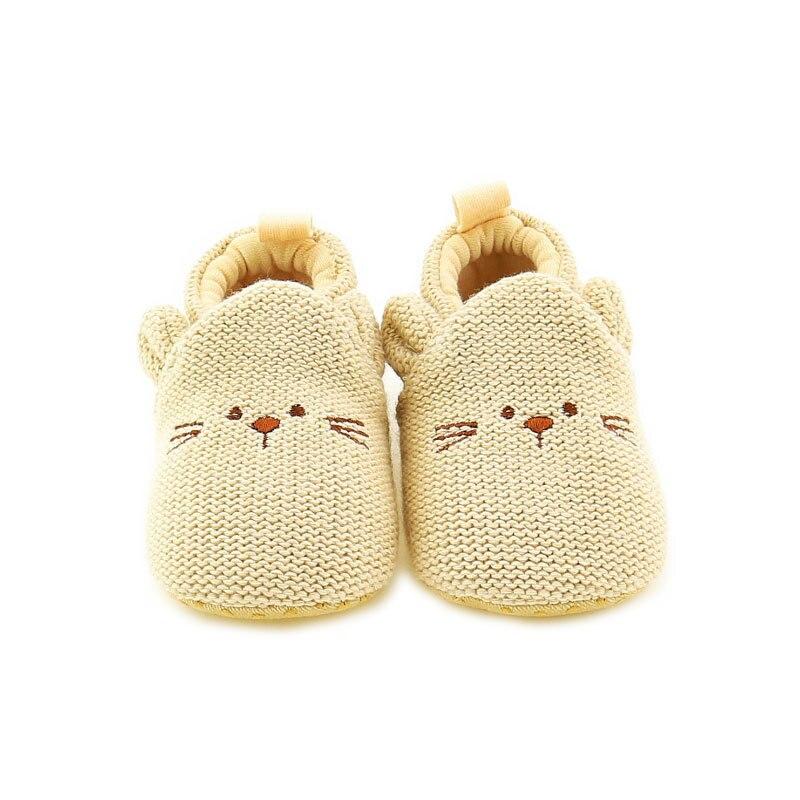 Chaussures antidérapantes bébé fille   Chaussures de berceau à semelle souple, pantoufles mignons pour premier marcheur, design de dessin animé