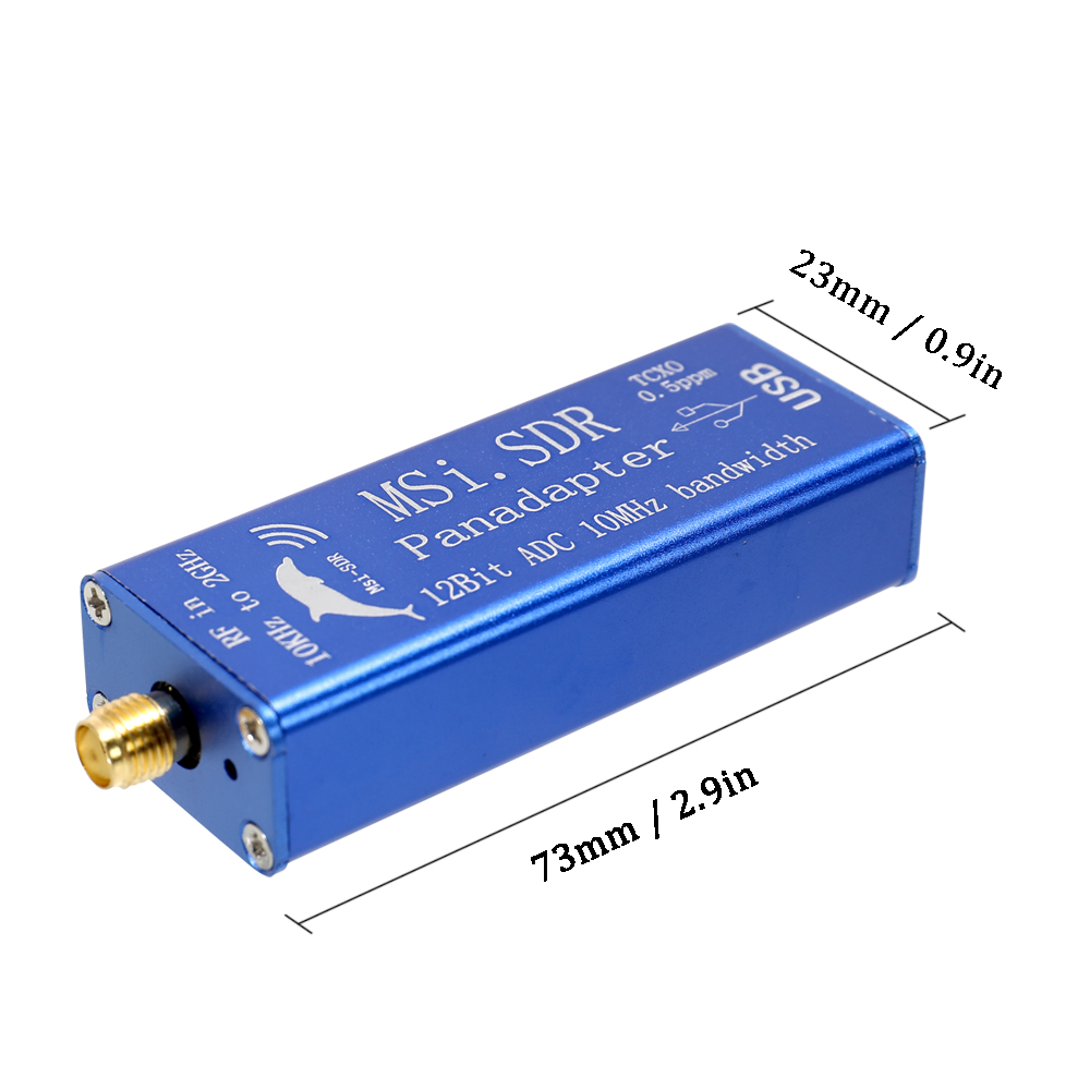 MSI SDR Panadapter Kit Broadband Software Radio MSI SDR 10KHz-2GHz  Panadapter Module Compatible with SDRPlay RSP1 Software