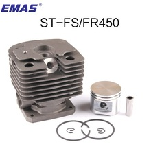 FS450 CYLINDER KIT 42MM FOR ST. FS400 FH480 FR450 SP400 FS451 TRIMMER ZYLINDER W/ PISTON RING PIN CLIPS 4128 020 1211