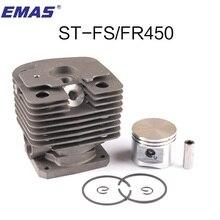 FS450 KIT CILINDRO 42mm PER ST. FS400 FH480 FR450 SP400 FS451 TRIMMER ZYLINDER W/PISTONE ANELLO CLIP di PIN di 4128 020 1211
