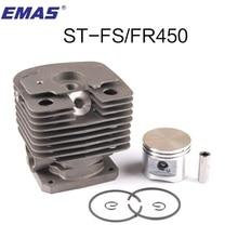 FS450 silindir kiti IÇIN 42 MM ST. FS400 FH480 FR450 SP400 FS451 DÜZELTICI ZYLINDER W/PISTON HALKA PIN KLIPLER 4128 020 1211
