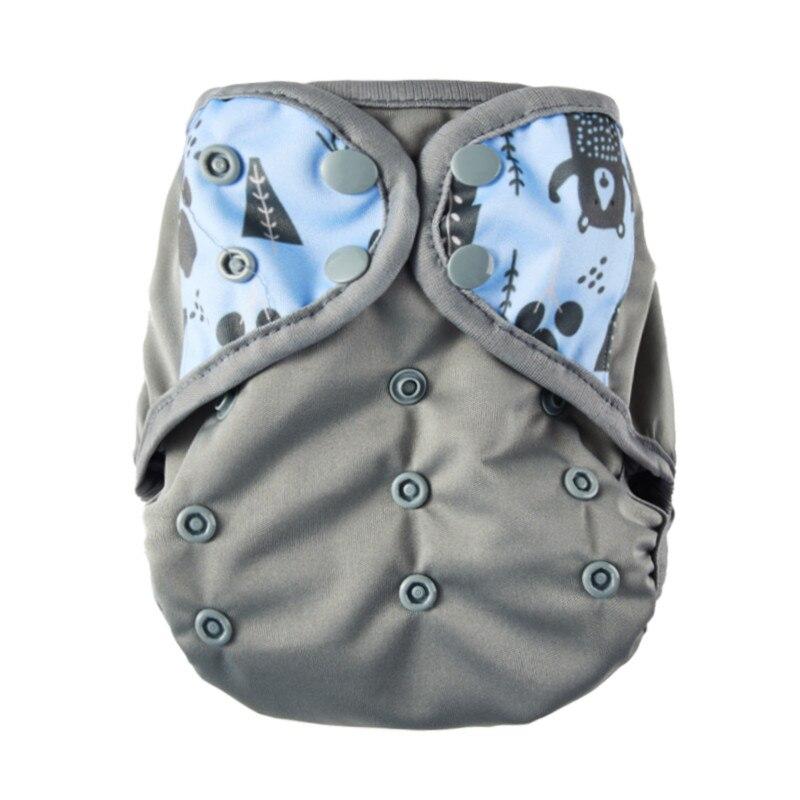 Talla de pañal de un solo tamaño Pañales de tela PUL respirable - Pañales y entrenamiento para ir al baño - foto 3