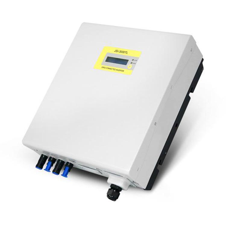 230V 3000W Single Phase String Grid Tie Solar Inverter Transformer Less MPPT Grid Connected Solar Inverter JSI 3000TL