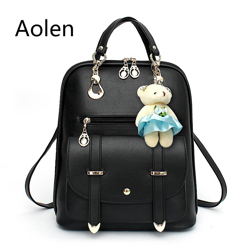 Aolen font b Bag b font fashion Woman Backpack Women Canvas Children font b School b