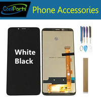 Black White Color 5.99 For TP LINK Neffos X9 LCD Display With Touch Screen Digitizer Sensor Assembly With Tape Tools