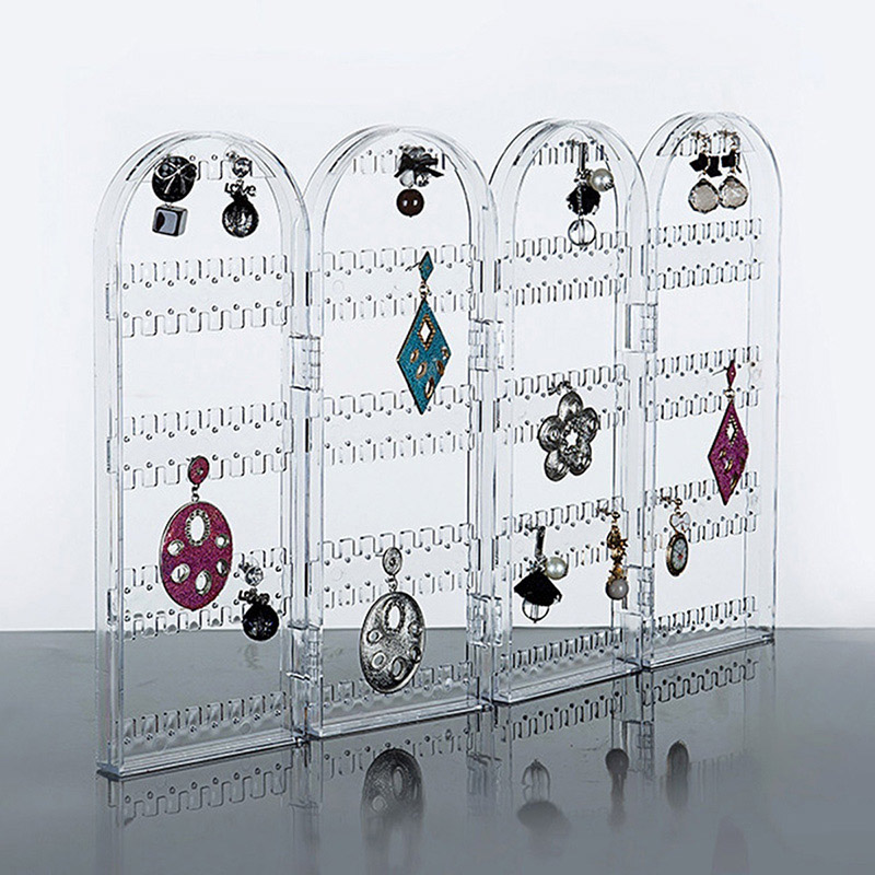 Earrings Ear Studs Necklace Jewelry Display Rack Stand Holder Organizer Holder Case Box M8694