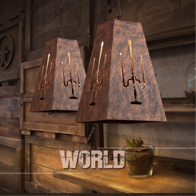 American Country Creative Retro Style Metal Pendant Light Vintage Loft Cafe Restaurant Decoration Lamp Free Shipping loft creative concise retro style wood rope pendant light cafe restaurant decoration light free shipping