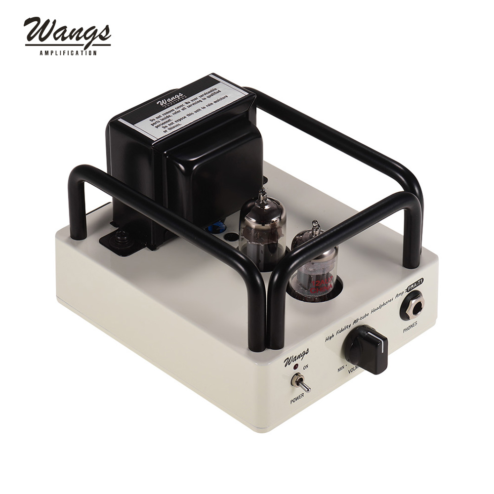 Wangs PHA-T1 High Fidelity All-tube Professional Portable Headphone Amplifier Amp with 12AU7 12BH7 Tubes EU/US Plug For Optional