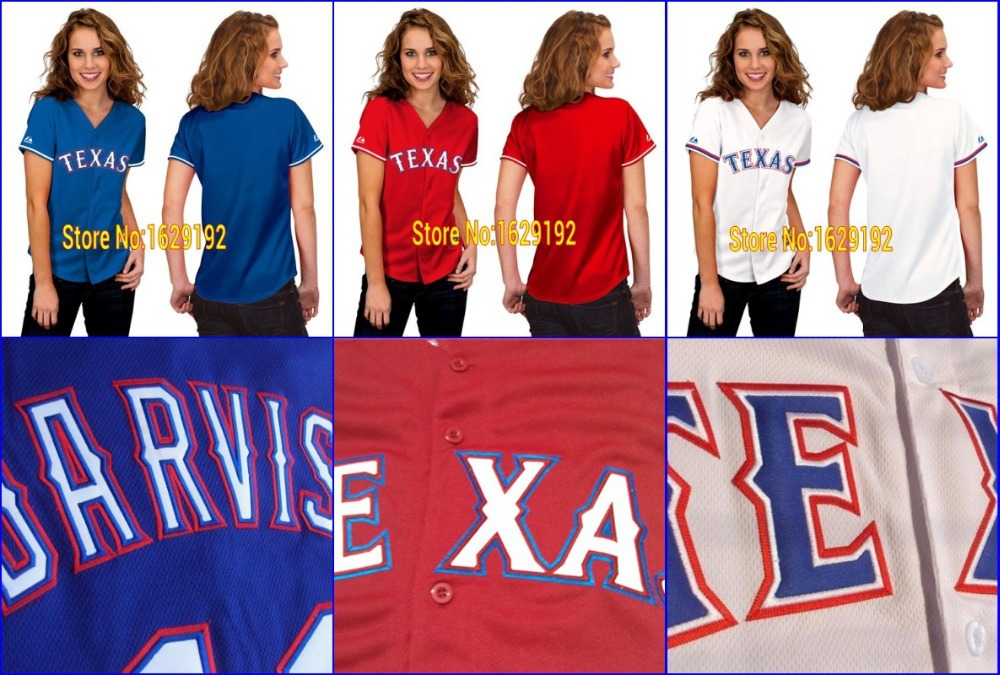 19d990966 New Arrival Authentic Texas Rangers Women s Blank Girls Home White Cool  Base Baseball Jerseys Stitched Shirts Cheap