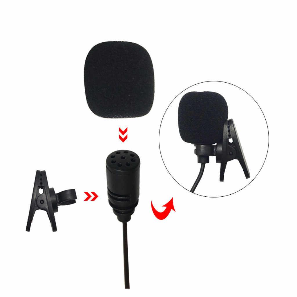 9,7X6,7mm micrófono externo para coche estéreo GPS para Bluetooth Audio DVD micrófono externo 2019 nuevo # YL1