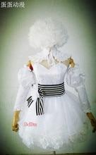 Alta calidad por encargo Kuroshitsuji negro mayordomo Cosplay traje de la muñeca