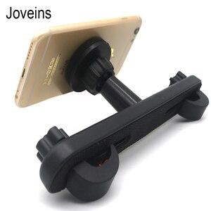 Автомобильный держатель для телефона и планшета с магнитным креплением на подголовник для автомобиля, универсальное сиденье на заднее сид...