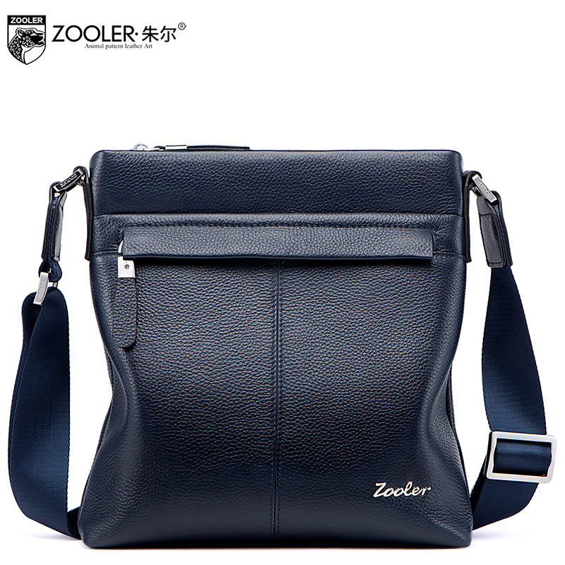 ZOOLER Genuine Leather Men Bags 2017 New Winter Casual Men's Small Crossbody Bag Male Fashion Cowhide Messenger Shoulder Bag neweekend genuine leather bag men bags shoulder crossbody bags messenger small flap casual handbags male leather bag new 5867