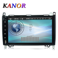 Wholesales Android 6 0 9 Inch Car GPS Navigator For Mercedes Benz Sprinter B200 B Class