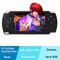Coolbaby X8 Портативный Игровой Консоли Android Геймпад Игровой Консоли Видеоигр Камеры MP3 MP4 Ebook Glassic Игры Рождественский Подарок