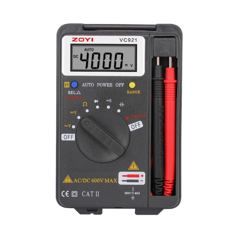Hot VICTOR VC921 DMM Integrated Personal Handheld Pocket Mini Digital Multimeter Newest