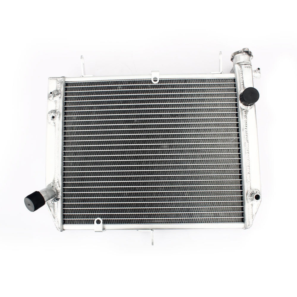BIKINGBOY for YAMAHA YZF R1 1000 00 01 Radiator Engine Cooling Water Cooler 22MM Aluminium Core With Cap Motorcycle 2000 2001-in Engine Cooling & Accessories from Automobiles & Motorcycles    1