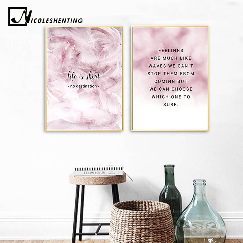 Aliexpress Buy Scandinavian Canvas Poster Print