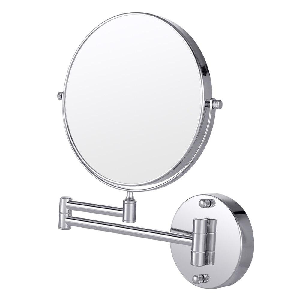 Spiegel Schönheit & Gesundheit GroßZüGig Cozzine 7x Doppelseitige Swivel Wand Halterung Make-up Spiegel Wand Runde Schönheit Spiegel Doppel Seite Vergrößerungs Objektiv Make-up Spiegel