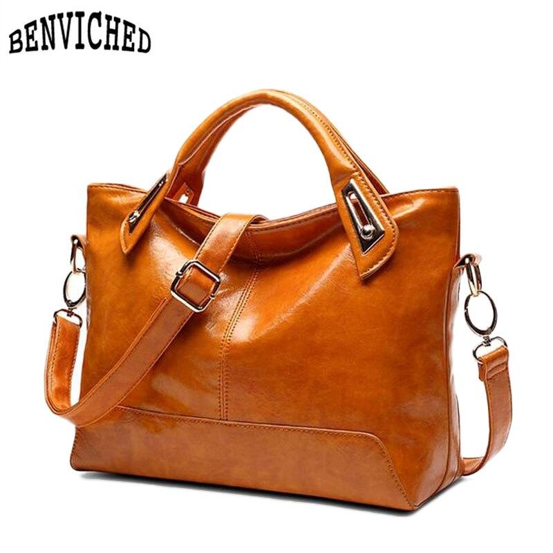 цены на New 2017 Fashion Women's Shoulder Bag Crossbody Bags Genuine Leather Women Messenger Bags Famous Brand Casual Ladies Handbags