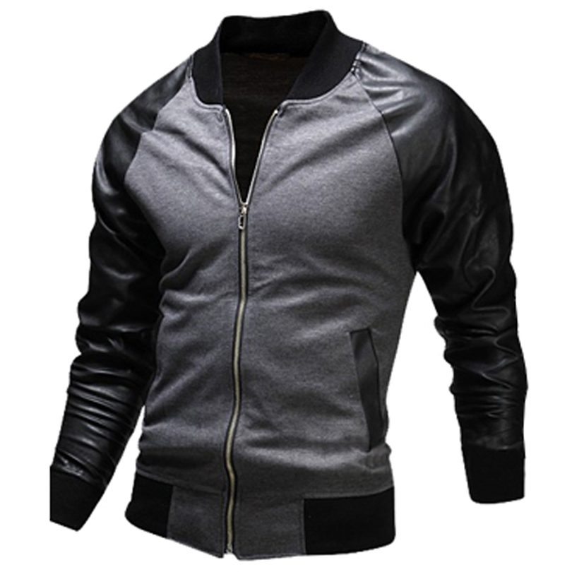 Mens black jacket casual – Novelties of modern fashion photo blog