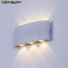 Restaurant  wall light project new design Aluminium LED lamp bedside room bedroom sconce