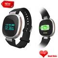 Pulseira inteligente E08 Banda Bluetooth Heart Rate Monitor de Fitness Rastreador IP67 À Prova D' Água de Natação para IOS Android