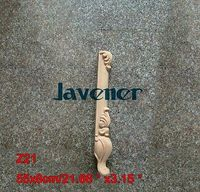 Z21 55x8cm Wood Carved Onlay Applique Carpenter Decal Wood Working Carpenter Table Leg