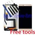Золото полный жк-дисплей + сенсорный экран планшета ассамблея для пусть v Le1 Pro X800 1440 x 2560 + бесплатные инструменты