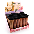 MISS ROSE Light Color Liquid Foundation Decorate Skin Color Moisturizer Natural Lighter Freely Make-up 7601-126F